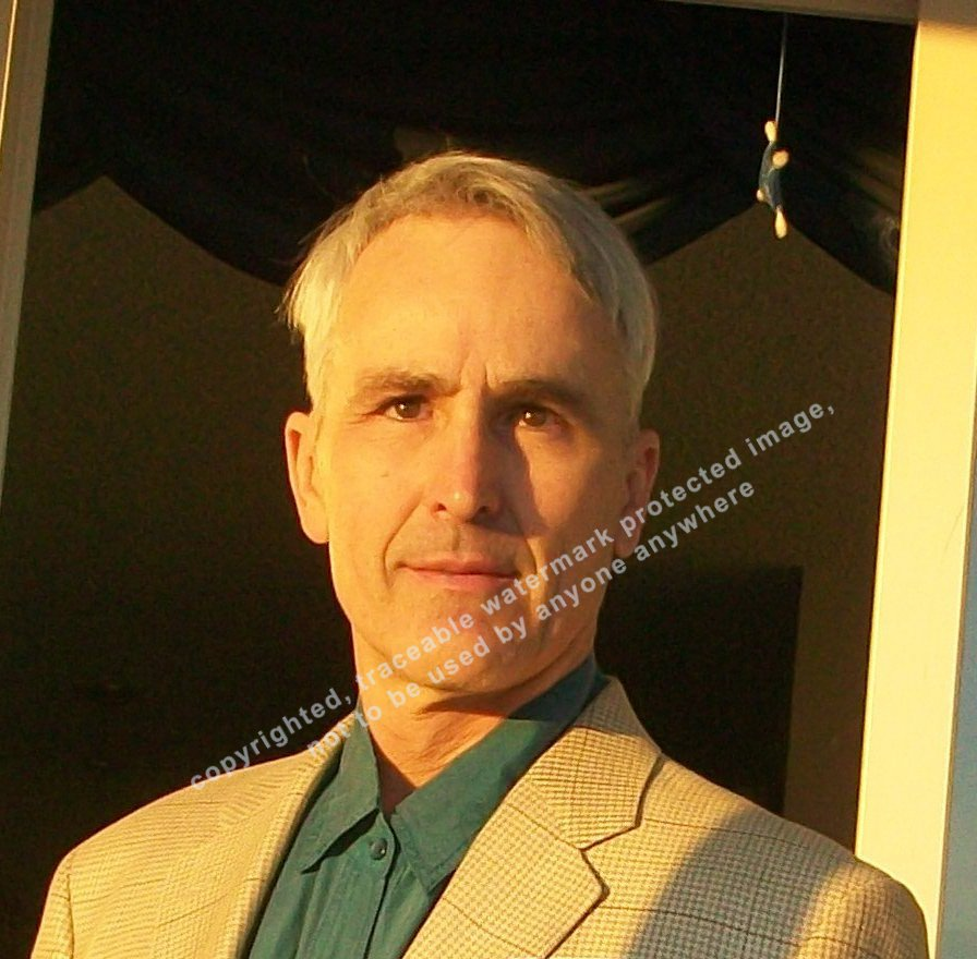 Nov. 26 2011 copyrighted, traceable watermark protected portrait of scientific Astrologer Rudolf Megert